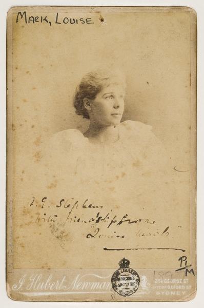 Louise Mack, World War One war correspondent | NAOMI PARRY